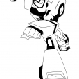 Coloriage Transformers : Bumblebee 5
