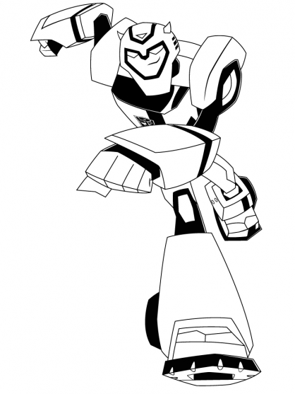 Coloriage transformers bumblebee 5 coloriage - Dessin anime transformers ...