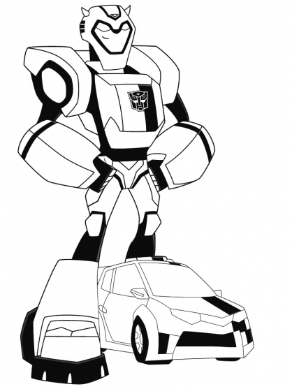 Coloriage transformers bumblebee 6 coloriage - Coloriage transformers ...