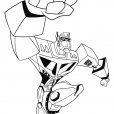 Coloriage Transformers : Optimus Prime 6