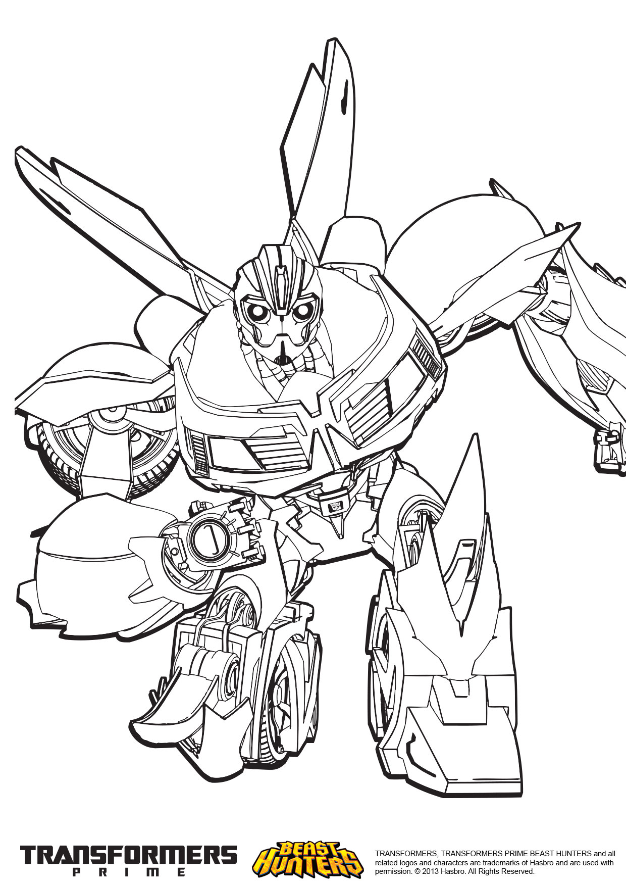 transformers prime beast hunters coloring pages pin transformers coloriages dessin tattoo on pinterest