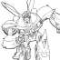 Coloriage Transformers prime Beast Hunters : Bumblebee 4