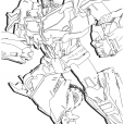Coloriage Transformers prime Beast Hunters : Optimus Prime 3