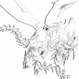 Coloriage Transformers prime Beast Hunters : Predaking 7
