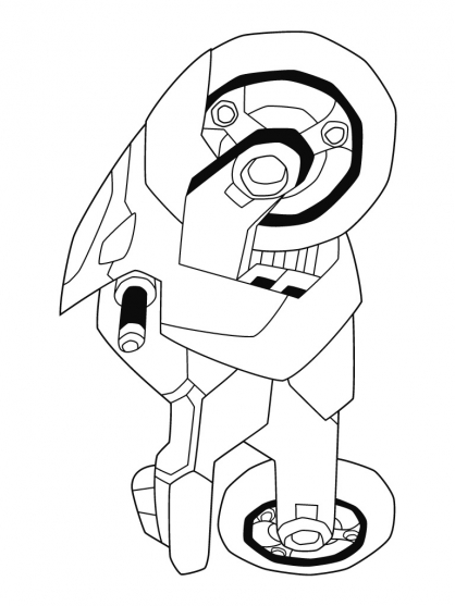 Coloriage transformers ratchet 3 coloriage - Dessin anime transformers ...