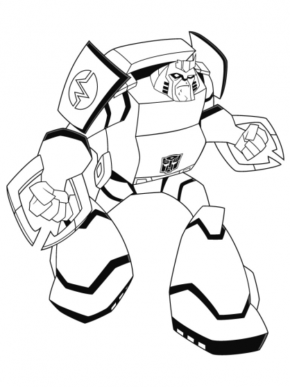 Coloriage transformers ratchet coloriage transformers - Dessin anime transformers ...