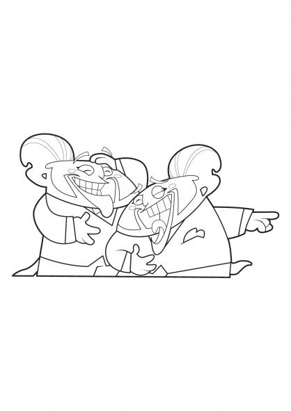 Coloriage Trio de choc 15