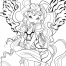 Coloriage Winx Club : Aisha