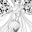 Coloriage Winx Club : Tecna