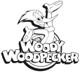 Coloriage Woody Woodpecker 1