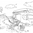 Coloriage Camping 24