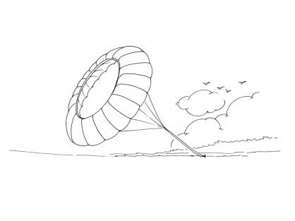 Coloriage Cerf-volant 7