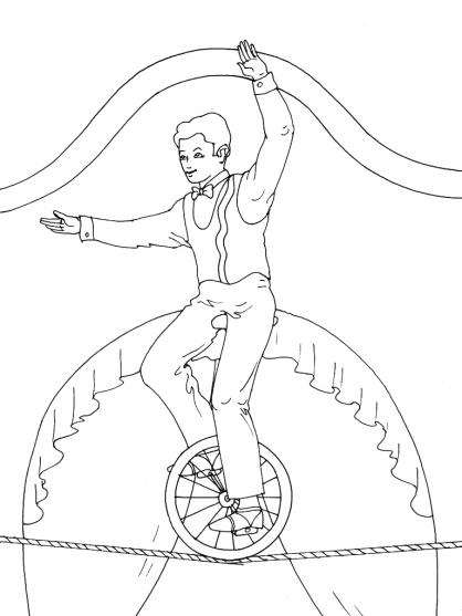 Coloriage Cirque 15