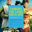 Coloriage Epic : Cadre photo