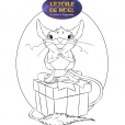 Coloriage La petite souris
