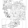 Coloriage LEGO Batman 3 : Man-Bat vole le diamant
