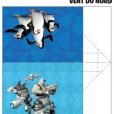 Coloriage Les Pingouins de Madagascar : Avions de papier (2)