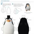 Coloriage Les Pingouins de Madagascar : Jouet 3D (2)