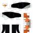 Coloriage Les Pingouins de Madagascar : Jouet 3D (3)