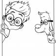 Coloriage MrPeabody&Sherman : Sherman et Mr. Peabody (3)