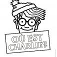 Coloriage Où est Charlie : Charlie