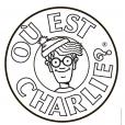 Coloriage Où est Charlie : Le logo Charlie
