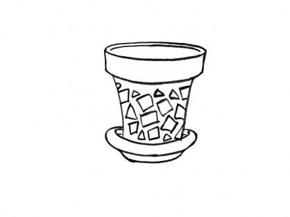 Coloriage Pot 1