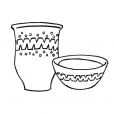 Coloriage Pot 11