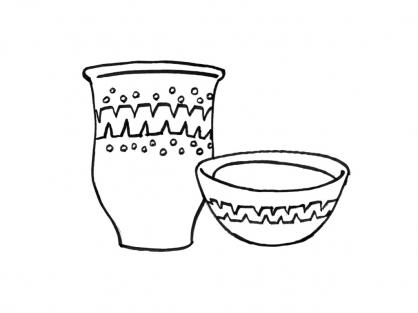 Coloriage Pot 11