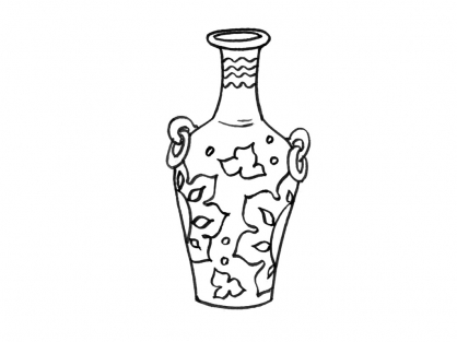 Coloriage Pot 12