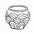 Coloriage Pot 13