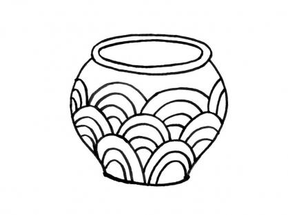 Coloriage Pot 13
