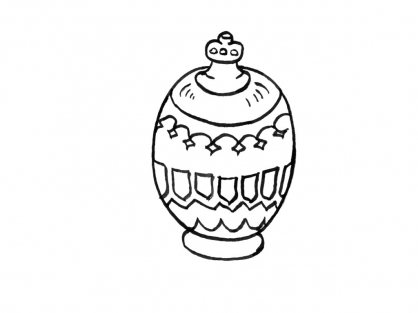 Coloriage Pot 2