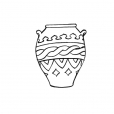 Coloriage Pot 6