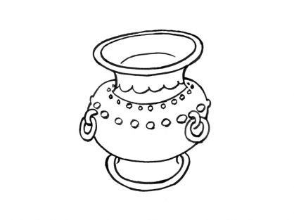Coloriage Pot 8