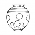 Coloriage Pot 9