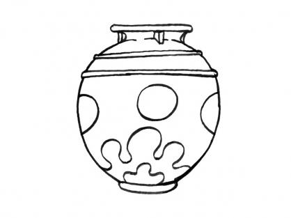 Coloriage Pot 9
