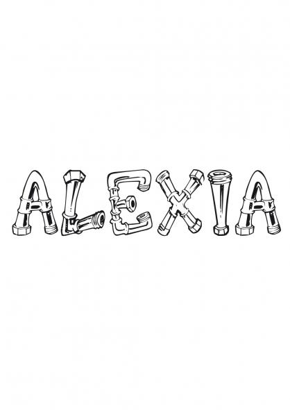 Coloriage Alexia
