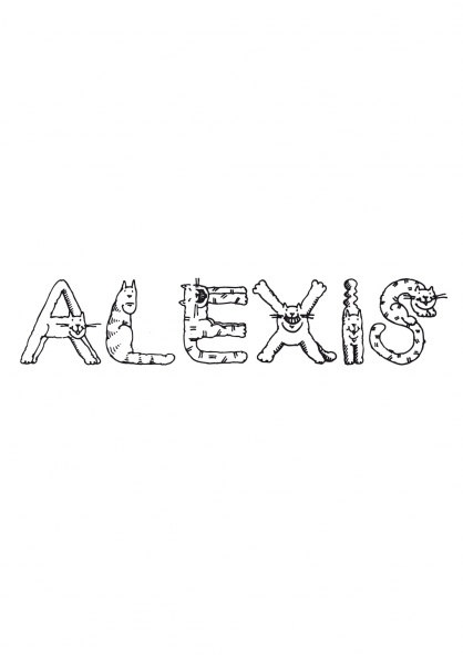 Coloriage Alexis