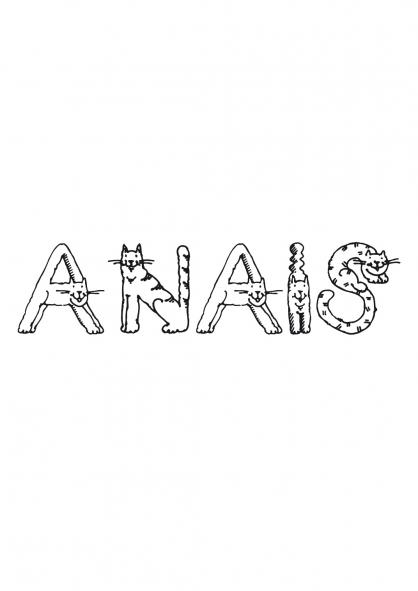 Coloriage Anaïs