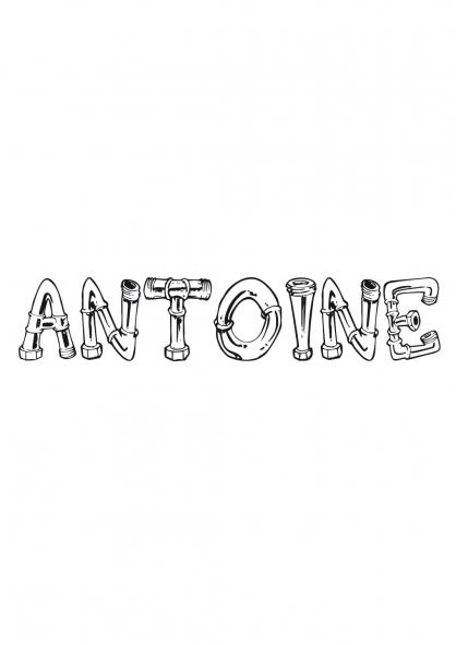 Coloriage Antoine
