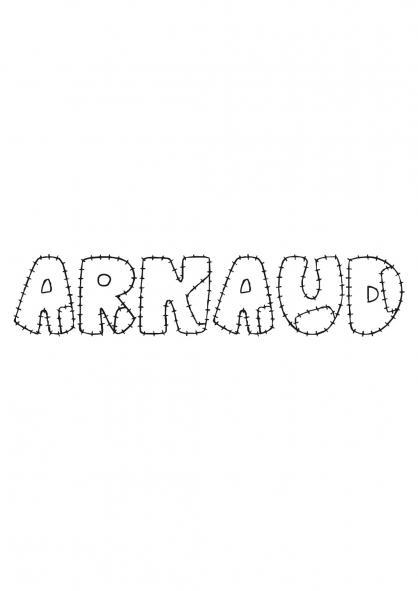 Coloriage Arnaud