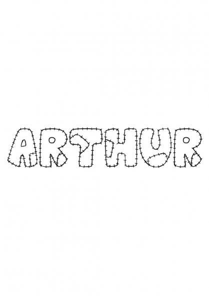 Coloriage Arthur