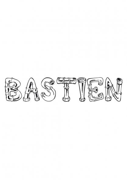 Coloriage Bastien