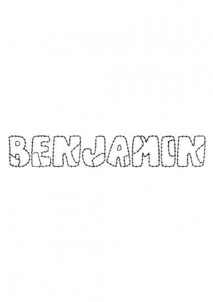Coloriage Benjamin