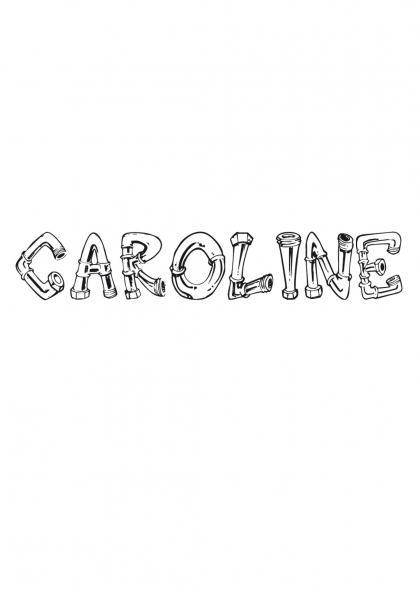 Coloriage Caroline