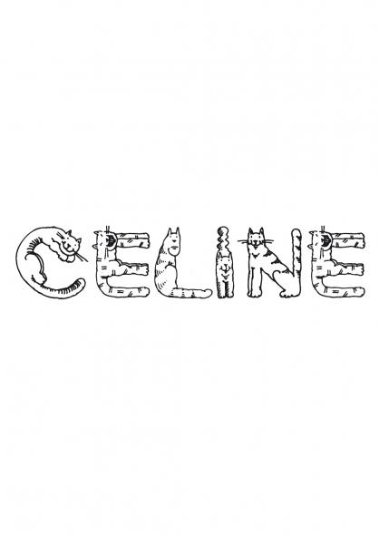 Coloriage Céline