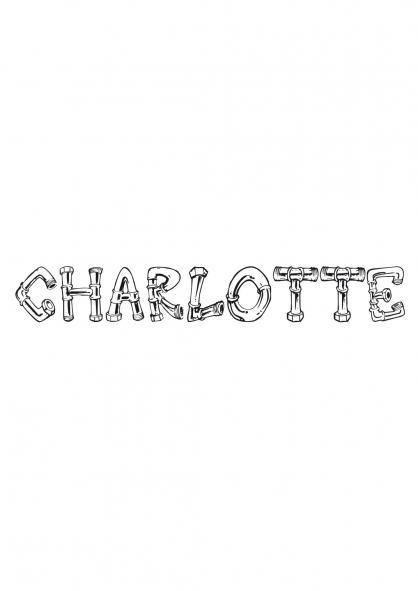 Coloriage Charlotte
