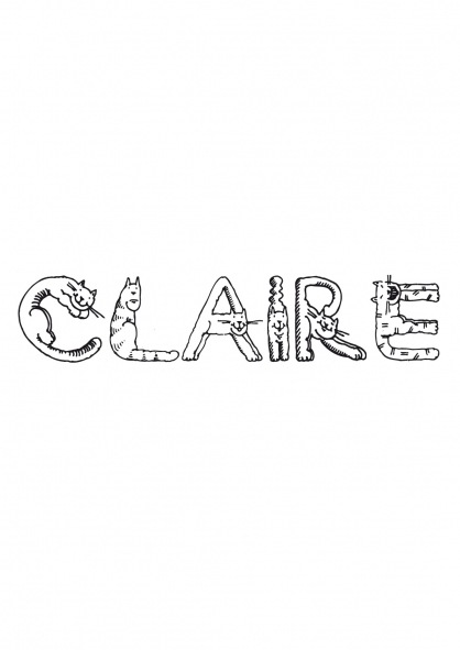 Coloriage Claire