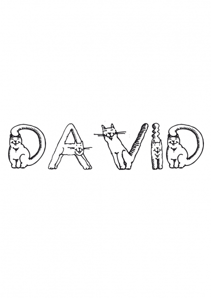 Coloriage David